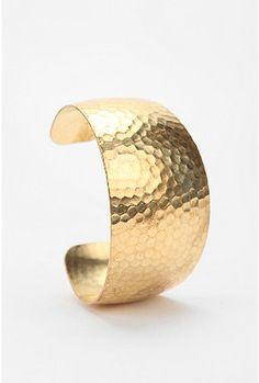 Vintage Hammered Cuff Bracelet