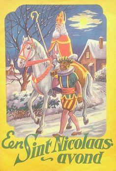 Sinterklaas boekje uit de jaren '50 : Een Sint Nicolaas-avond