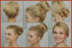 Gone are the times when there have been solely two, three hairstyles for brief hair. Numerous hair instruments and complicated braids are invented to facilitate your styling course of. These days it is vitally helpful to have brief hair. First, it's straightforward to take care of and second, you have got the chance to create some unimaginable coiffure concepts. Should you're prepared so as to add extra coiffure concepts to your arsenal, learn on. Fast Hairstyles, Easy Hairstyles For Long Hair, Elegant Hairstyles, Hairstyles With Bangs, Beautiful Hairstyles, Popular Hairstyles, Peinado Updo, Curly Hair Styles, Natural Hair Styles