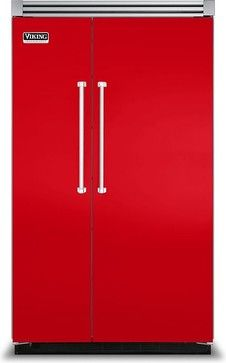 Fully Integrated Side by Side Refrigerator from Viking