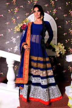 Anarkali Lehenga, Western Outfits, Desi, Dresses With Sleeves, Gowns, Indian, Long Sleeve, Fashion, Moda