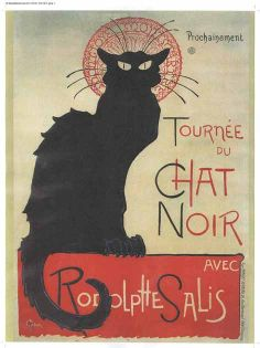 Bring vintage chic to your decor with the iconic Tournee du Chat Noir by renowned French Art Nouveau printmaker Theophile Alexandre Steinlen. In his career, Steinlen excelled in many mediums, but was Posters Vintage, Vintage Advertising Posters, Vintage Advertisements, Vintage Art, Toulouse, Mondrian, Rembrandt, Stretched Canvas Prints, Framed Art Prints