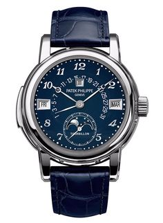 Patek Philippe Ref. 5016A-010 Steel and Blue Enamel Dial - Only Watch 2015 - Perpetuelle