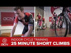 HIIT – 25 Minute Cycling Workout –Hill Training - YouTube