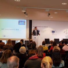 Deutsches Europe Direct Treffen in #Berlin. Wichtige Dinge stehen an. Heute sind wir im Europäischen Haus. #europawahl2019 #europe #eu #EIZRostock