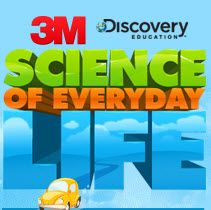 SCIENCE OF EVERYDAY LIFE - 3M has partnered with Discovery Education to bring this resource in the hands of K - 12. There are interactive videos & labs and inquiry-based lessons aligned to national standards by grade level. The idea is to help kids relate to the science they experience everyday and understand it better.