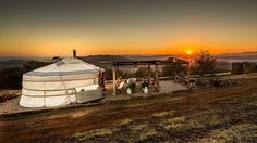 This #yurt in King Valley, #Victoria is a top pick for @destinations_mag. See the rest in our #linkinbio.  #Glamping #Camping #Getaway #Explore #Unique #Travel #GlampingHub