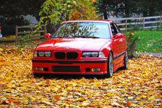 my dream car   Turbo Hellrot BMW E36 M3