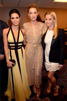 Jenna Dewan Tatum, Amber Heard et Reese Whiterspoon, dans une réinterprétation réussie des Trois Grâces