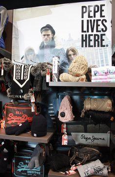 Pepe Jeans accessoires automne/hiver 2012