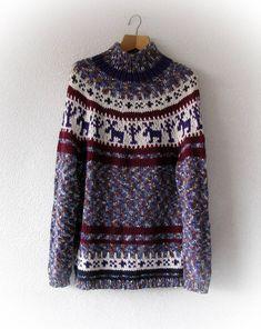 lopapeysa unisex knitted sweater norwegian sweater for women