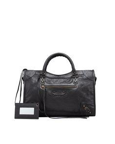 Classic City Bag, Black by Balenciaga at Neiman Marcus.