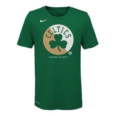 Youth Boston Celtics Logo Tee