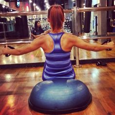 #bandexercises #stability #balance #BOSU #fitness #abs Bosu Workout, Gym Workouts, Fitness Abs, Health Fitness, Bosu Ball, Burpees, I Work Out, Workout Ideas, Stability