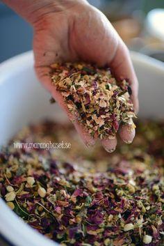 Calming tea - my own blend - Maranghuset-style