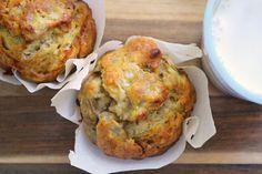 honey banana muffins 1