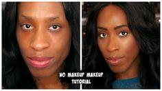 Easy Fresh Face No Makeup Makeup Tutorial For Dark Skin
