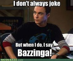 Sheldon! Played by Jim Parsons of Spring, TX!!