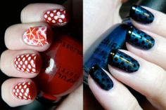 im likin the blue n dots...it came attached with the red..i guess the red is ok