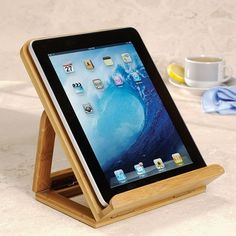 Nantucket iPad® Lifter in Last Minute Gifts 2012 from Levenger on shop.CatalogSpree.com, my personal digital mall.