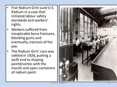 Image result for us radium corporation Radium Girls, Bone Fracture, Workers Rights, Image