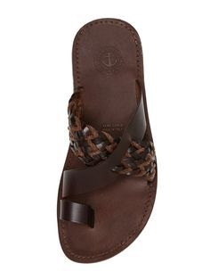 Woven Accented Sandals by Miramare Italia at Gilt Mais
