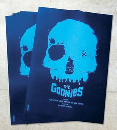 The Goonies Posters by Daniel Norris, via Flickr