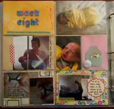 Project Life Baby Album :: Week Eight with Amy Tangerine