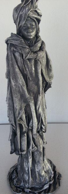 Powertex figurine by Alete Muller