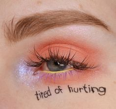 Eye Tutorial, It Hurts, Eyes, Human Eye