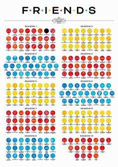 redesign friends tv show poster designboom