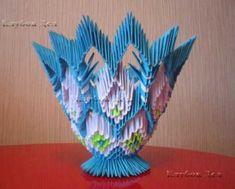 """Модульное оригами """"Конфетница"""""""