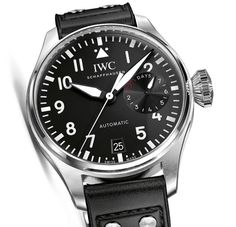 IWC Big Pilot's Watch IW500912. 46mm with soft-iron inner cage, caliber 51111 with 7 days power reserve.