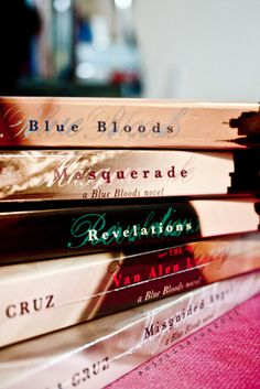 For a series about vampires, the Blue Bloods novels are fantastic.
