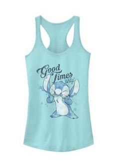 Disney Stitch, Lilo And Stitch, Disney Apparel, Disney Tank Tops, Magic Mirror, Disney Junior, Disney Outfits, Disney Magic, Times