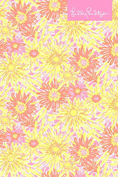 @Lilly Oh Oh Oh Pulitzer sunkissed print mobile background