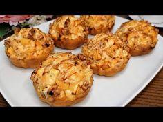Prendi 1 Mela! Prepara in POCHISSIMI MINUTI questi Mini Torte! #asmr #118 - YouTube No Cook Desserts, Apple Desserts, Party Desserts, Apple Recipes, Cake Recipes, Asmr, Spreadable Cheese, Mini Cakes, Flan