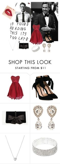 """blow that night away"" by mandmcarter24 ❤ liked on Polyvore featuring Gianvito Rossi, Ann Taylor, Dolce&Gabbana, Links of London and Jouer"