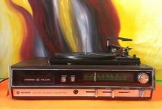 Vintage-JVC-NIVICO-Model-4316-AM-FM-Stereo-Receiver-8-Track-Player-Turntable