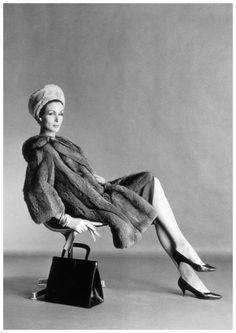 Photo Eugene Vernier Jennifer Hocking Vogue UK, August 1961