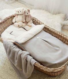 reci/én nacido Saco de dormir infantil para beb/és para cochecito Gondel azul claro oto/ño invierno