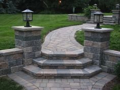 Brick paver stairs   Welcome to S.A. Script
