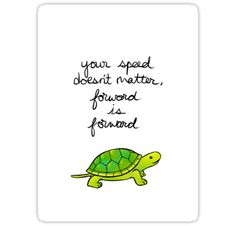 Forward is Forward Turtle by thelatestkate