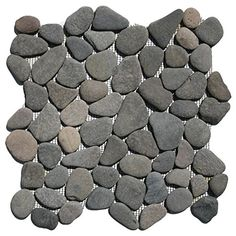 Island Grey Pebble Tile 1 Sq Ft Cnk Https Www Dp B019g5ngms Ref Cm Sw R Pi X Difzybt2q88rd