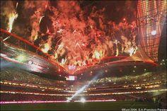 Inauguração do Estádio da Luz, a 25 de outubro de 2003.