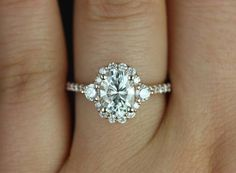 Beautiful Bachelorette-Inspired Oval Engagement Rings