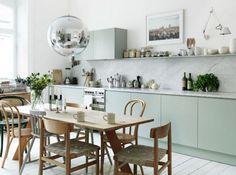 KITCHEN | Mint Green Kitchen Decor