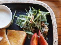 ふんわり食感!ホウレン草のシーザーサラダの作り方 | nanapi [ナナピ]