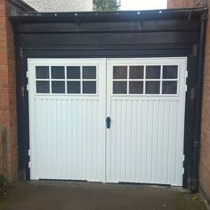 Side hinged garage door installed in Stratford Upon Avon. Side Hinged Garage Doors, Garage Door Hinges, Stratford Upon Avon, Outdoor Decor, Home Decor, Decoration Home, Room Decor, Home Interior Design, Home Decoration