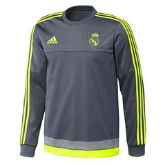 be9f7b9f2 Real Madrid Trainings-Sweatshirt – Dunkelgrau